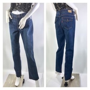Levis Perfect Waist Straight 525 Jeans Womens 10